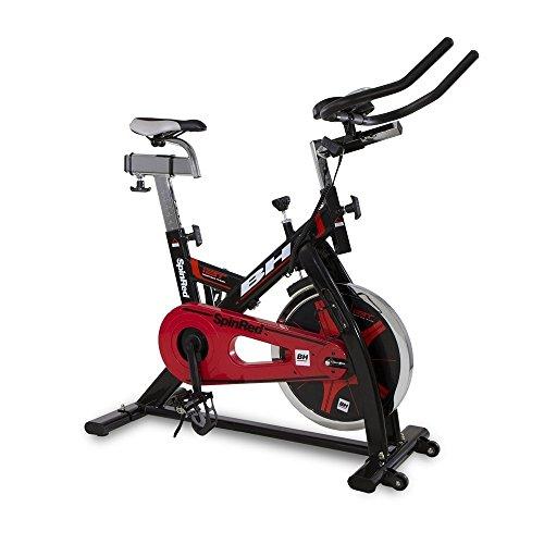 BH Spinred indoorbike - 22 kg Schwungrad - Kettenübertragung - schwarz rot - H9132