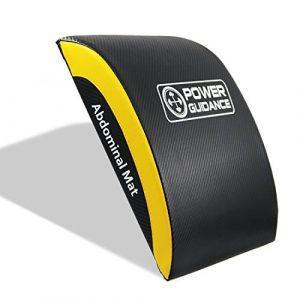 POWER GUIDANCE Ab Crunch Sit Up Matte – Bauchtrainer-Sit ups lumbalen als gute Qualität Core – Übung Abdominal Trainer zum Schutz der Taille Um zu verhindern, dass verstaucht