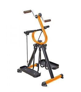 Master Gym Fitnessgerät Heimtrainer   Crosstrainer, Walker, Beintrainer und Armtrainer in einem Gerät – Ganzkörpertrainer