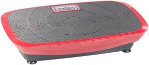 Newgen Medicals Vibrationstrainer: Breite 3D-Vibrationsplatte WBV-600.3D, 500 Watt, 20 Frequenzen & Timer (Rüttelplatten)