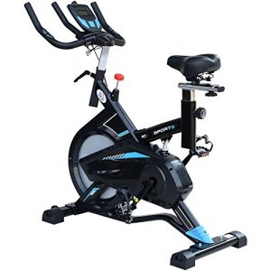 Homcom Indoor Cycling Bike Trainer Home Gym Fahrradtrainer Heimtrainer Fitnessfahrrad 117x48x110cm
