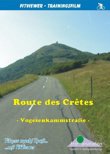 Route des Cretes - Vogesen - FitViewer Indoor Video Cycling Frankreich