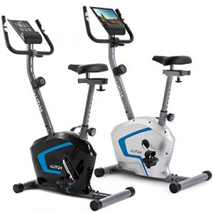 Heimtrainer RX300 Fitnessbike Ergometer Computer Pulssensoren Smartphone Halterung