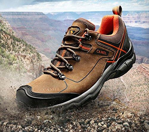 CAMEL Wanderschuhe Outdoor Trekking Low-Top Professionelle Rutschfeste Outdoor Sneaker Wanderschuhe Man