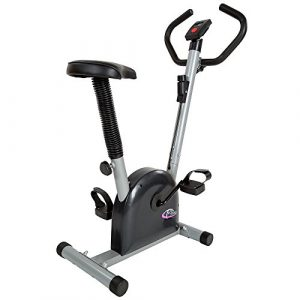 TecTake Fitness Fahrrad Hometrainer mit Computer