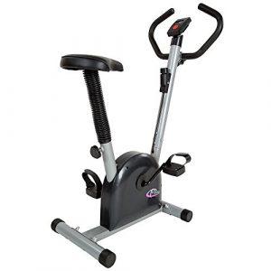 TecTake Fitness Fahrrad Hometrainer mit Computer