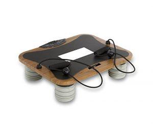 Tecnovita by BH Vibro Quick Pro Vibrationsplatte, braun/Schwarz, One Size