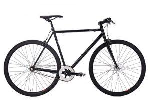 "KS Cycling Fixie Fitnessbike 28"" Flip Flop schwarz RH 53 cm Fahrrad"