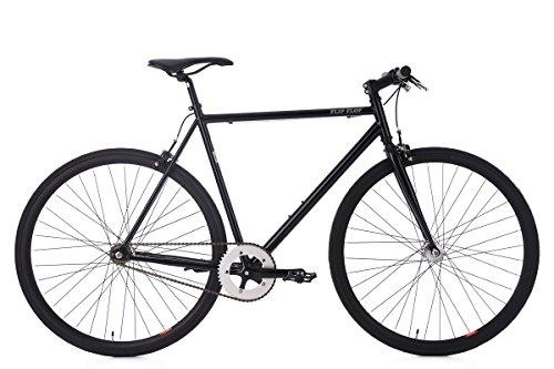 KS Cycling Fixie Fitnessbike 28'' Flip Flop schwarz RH 53 cm Fahrrad