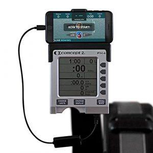 liverowing Concept 2Anschluss für Smartphones–Rudergerät Zubehör für Ihren PM3, PM4, PM5ERG Maschine–Plus Kostenlose liverowing App