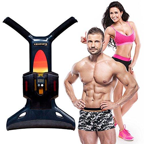 AbdoForte Bauchtrainer, für einen flachen Bauch und gut definierte Bauchmuskeln in nur 5min am Tag, empfohlen von Gérard Vives