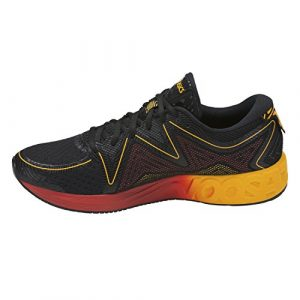 ASICS Herren Noosa Ff T722n-9004 Sneaker, schwarz