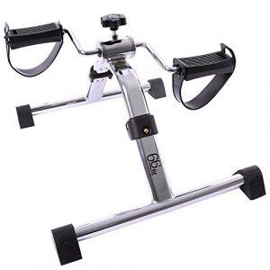66fit Arm- u. Bein-Pedaltrainer – faltbarer mini Heimtrainer, Physiotherapie