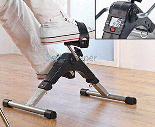DeskShaper Pedaltrainer Arm- und Beintrainer Heimtrainer Mini Fitness trainer   mit LCD und Einstellbarer Widerstand   einfach und lustig