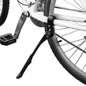 BV Fahrrad-Seitenständer, Parkstütz, Kickstand, höhenverstellbare Legierung, Adjustable Height Rear Kickstand for Bike