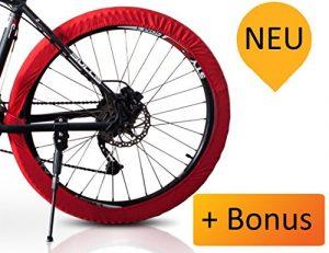 Indoor Bike Cover. Compakte Fahrradschutzhülle-für Fahrradständer/Fahrradhalterung.Passt für alle Reifen