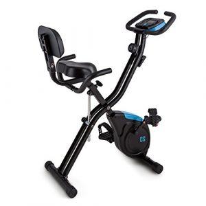 Capital Sports Azura X2 X-Bike • Ergometer • Pulsmesser • 8-stufiger Widerstand • 3 kg Schwungmasse • Rückenlehne & Seitenhalterung • max. 100kg