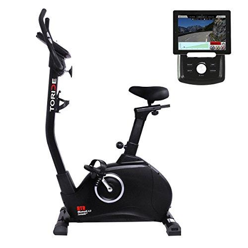 toRide Ergometer Heimtrainer, Fitnessbike, Smartphone/Tablet APP Steuerung, Tablethalterung, Bluetooth4.0, Hometrainer mit Magnetbremssystem,iconsole+, Polar kabelloser Empfänger