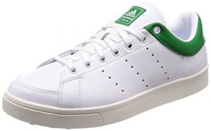 adidas Herren Adicross Classic- Leather Golfschuhe, Weiß (White/Green F33781), 46 EU