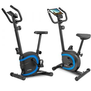 Elitum Heimtrainer RX150 Fitnessbike Trainingscomputer Pulsmessung bis 120 kg Magnet Bremssystem
