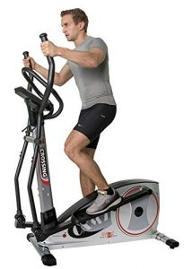 Christopeit Crosstrainer Ergometer CXM 7 Silber Ausdauertraining Cardiogerät