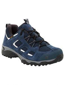 Jack Wolfskin VOJO HIKE 2 TEXAPORE LOW W, wasserdichte Damen Wanderschuhe, atmungsaktive Outdoor Schuhe für Frauen, robuste Hikingschuhe mit leichter Sohle