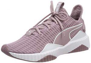 Puma Damen Defy WN's Fitnessschuhe Violett (Elderberry White), 37.5 EU