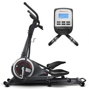 Sportstech Ellipsen Crosstrainer CX640, Smartphone App kompatibel, 24 KG Schwungmasse, 26 Trainingsprogramme mit HRC-Funktion