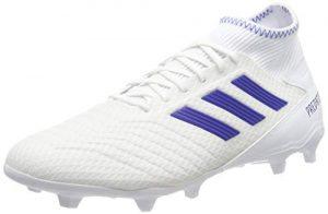 adidas Herren Predator 19.3 FG Fußballschuhe, Mehrfarbig (FTWR White Bold Blue Bb9333), 42 2/3 EU