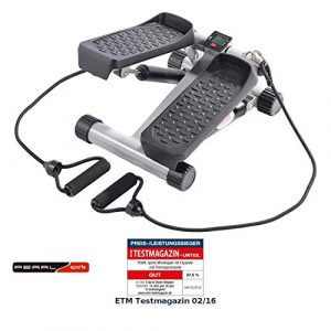 PEARL Sports Stepper: Ministepper mit Expander und Trainingscomputer (Swing Stepper)