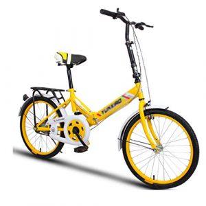 Indoorcycling Bikes Fahrrad-Fahrrad-Unisex-Faltrad 20 Zoll-Rad-faltende Stadt V2 Kompaktes Faltbares Fahrrad-Leichtgewichtler-Legierungs-faltende Stadt