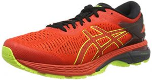 ASICS Herren Gel-Kayano 25 Laufschuhe Rot (Cherry Tomato/Safety Yellow 801) 44 EU