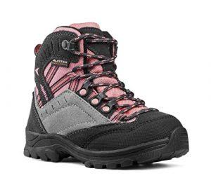 alpina Wanderschuhe, Wanderstiefel für Mädchen in pink/grau mit Rutschfester Sohle