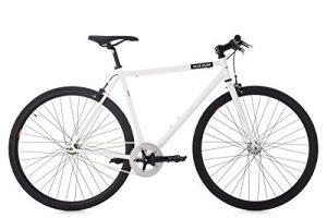 "KS Cycling Fixie Fitnessbike 28"" Flip Flop weiß RH 59 cm Fahrrad, 28"