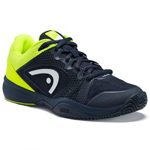 Head Revolt Pro 2.5 Junior, Unisex-Kinder Tennisschuhe, Blau (Dark Blue/Neon Yellow Dbny), 38 EU (5 UK)