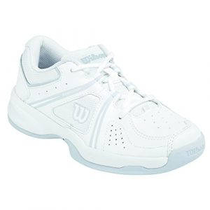 Wilson Envy Jr,   Tennisschuhe, Weiß (White/Pearl Gray Wil/Coal Wil), 36 EU (3 UK)