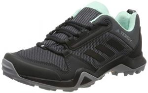 adidas Damen Terrex AX3 W Trekking- & Wanderhalbschuhe Grau (Grey/Core Black/Clear Mint 0) 38 EU