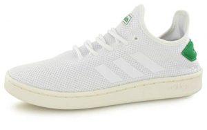 adidas Herren Court Adapt Tennisschuhe, Weiß Ftwbla/Brown 000, 45 1/3 EU