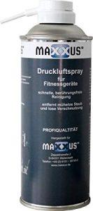 Maxxus Druckluftspray Druckluftreiniger Ideal Zur Reinigung, Pflege Und Wartung Von Fitnessgeräten – Für Laufband, Crosstrainer, Ergometer etc