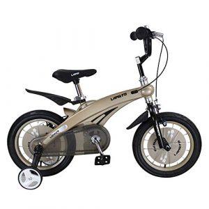 Cvbndfe Indoor Cycling Bike Stationary Kinder Jungen Gilrs Fahrrad Freestyle Kind Sport Fahrrad mit Stablizers in Größe Zoll 12,14 Alter 3+ Cycle Bike Komfortables Sitzkissen