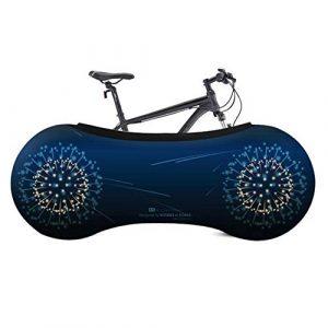 BeneU Indoor Bike Cover Fahrrad-Radsocken Fahrrad-Speicherabdeckung, Bike-Radabdeckung, Indoor-Staub-Mountainbike-Aufbewahrungstasche Hält Böden Und Wände Schmutzfrei Geeignet Für Reifen Von 20-27,5