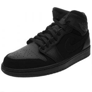 Nike Herren AIR Jordan 1 MID Fitnessschuhe, Mehrfarbig Dk Smoke Grey/Black 064, 46 EU