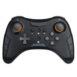 JIN Wireless NS pro Bluetooth Joystick Vibrationsgerät für die Positionierung des Gamepad Gamepad Switch Spielekonsole kompatibel mit Android-Smartphone Tablets, TV, TV Box, Tablet usw.