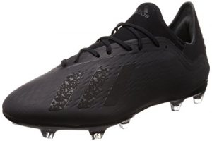 adidas Herren X 18.2 Fg Fußballschuhe, Schwarz (Core Black/Core Black/Ftwr White), 46 2/3 EU (11.5 UK)