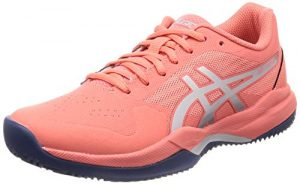 ASICS Damen Gel-Game 7 Clay/Oc Tennisschuhe, Pink (Papaya/Silver 704), 37 1/3 EU