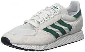 adidas Herren Forest Grove Fitnessschuhe, Weiß (Balcri/Veruni/Negbás 0), 43 1/3 EU