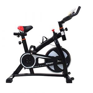 Poncherish S300 Indoor Cycling Bike mit 8 kg Schwungrad. Heimtrainer Fitness-Bike Cardio-Bike Fahrrad-Trainer max bis 200 kg belastbar