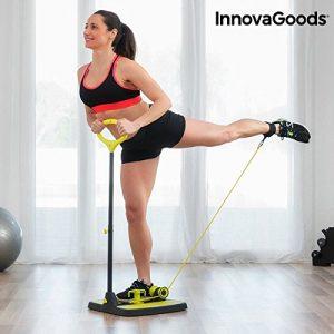 InnovaGoods ig117209Plattform Fitness, Unisex-Erwachsene, schwarz/gelb, Einheitsgröße