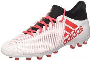 adidas Herren X 17.3 AG Fußballschuhe, Weiß (Ftwwht/Reacor/Cblack), 44 EU