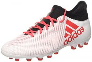 adidas Herren X 17.3 AG Fußballschuhe, Weiß (Ftwwht/Reacor/Cblack), 42 2/3 EU